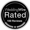 WeddingWire 100+ Rated