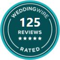WeddingWire 100+ Rated